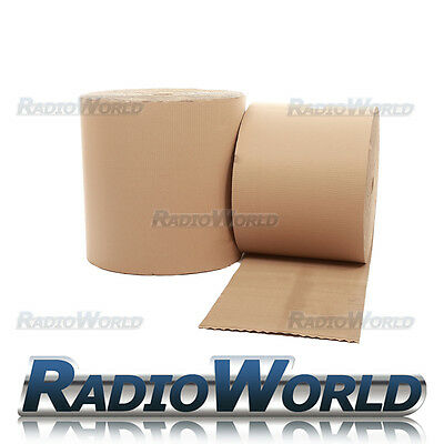 300mm x 75M Corrugated Cardboard Paper Roll Packing Card Wrap Post Material