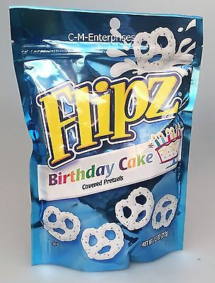 Nestle Flipz Birthday Cake Covered Pretzels 7.5 oz