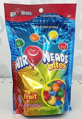 Air Heads Fruit Flavored Bites Candy 9 oz Airheads