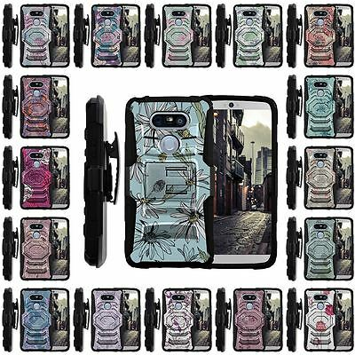 For LG G5 Case | Rugged Holster Clip Heavy Duty Case Unique Images