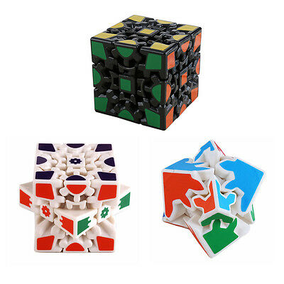 New Gear Dodecahedr Pyramid Magic Cube Speed Twist Puzzle Kid Toy Gifts