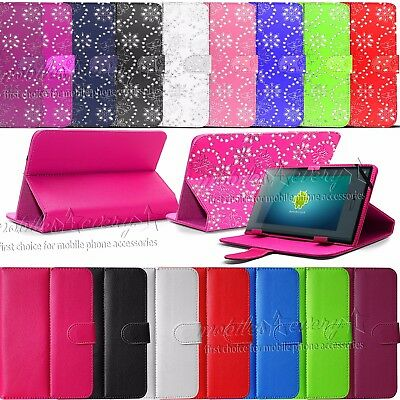 """Universal Flip Case Cover Stand Fits Acer iConia One 7 B1-770 (7"""" inch Tablet)"""