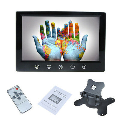 9 Inch Remote Control TFT LCD Color Screen Car Rear View Monitor +2 Video Input