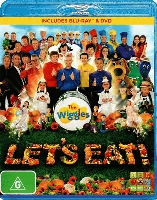The Wiggles - Let's Eat DVD & Blu-ray Region B New!