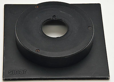 SINAR Lens Board 34mm Cut Out Extended 20mm