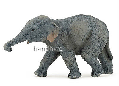 Papo 50132 Asian Elephant Calf Baby Wild Animal Figurine Model Toy Gift - NIP
