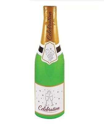 Giant 180cm Inflatable Celebration Champagne Bottle Blow Up Party Decorations