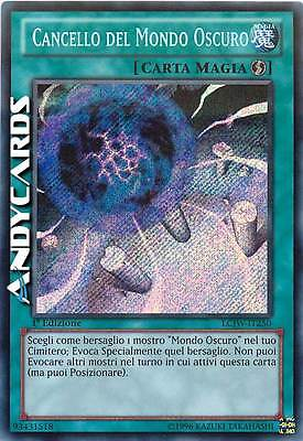 Cancello del Mondo Oscuro ☻ Segreta ☻ LCJW IT250 ☻ YUGIOH ANDYCARDS