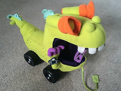 Nickelodeon Rugrats The Movie Raptor Wagon Soft Toy Plush By Applause 1997 Rare