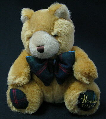 Old Vintage Harrods 1994 Christmas Bear Knightsbridge Highland See! >>