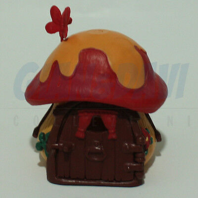 PUFFO PUFFI SMURF SMURFS 4.9011 49011 Red/Yellow  cottage Casa 1A