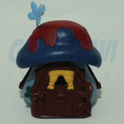 PUFFO PUFFI SMURF SMURFS 4.9013 49013 Blue/Red cottage Casa 1A