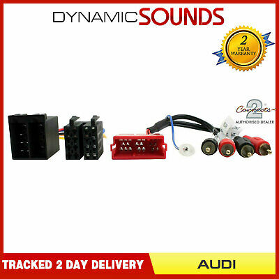 CT20AU11 Fully Amplified System Wiring Harness Adaptor For  Audi A3, A4, A6, A8