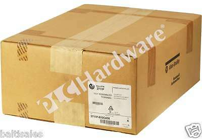 New Sealed Allen Bradley 2711P-B10C4D8 /A 2013 PanelView Plus 6 1000 Key/Touch