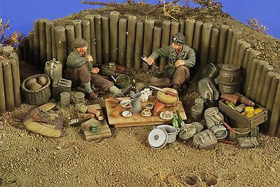 VERLINDEN PRODUCTIONS #2779 WWII US Infantry Camping Grounds in 1:35