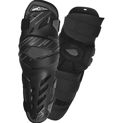 Leatt Dual Axis Knee Guards-Black-Large/X-Large Motorcycle Gear 5000403001