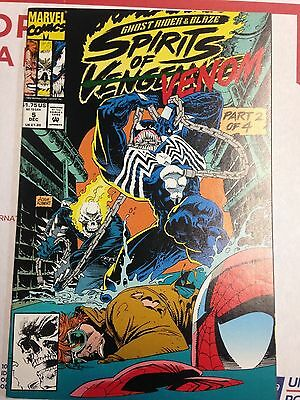 Ghost Rider Blaze Spirits Of Vengeance 5 Dec 1992 Marvel