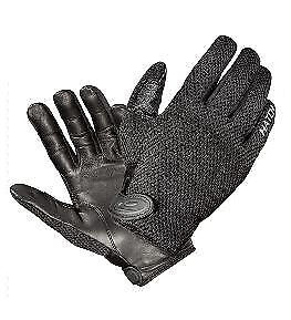 Hatch Gloves CT250 Cool Tac Police Search Duty Unlined Hot Weather Glove Black L