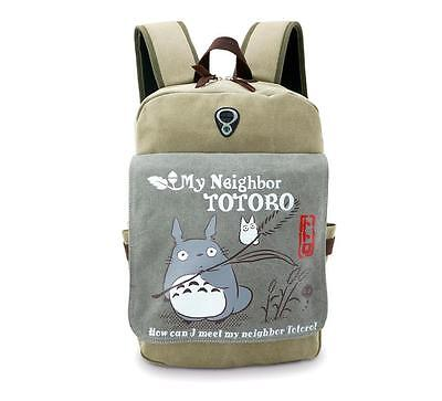 Neu My Neighbor Totoro Anime Manga Rucksack Tasche Back Bag 37x31x13cm A4