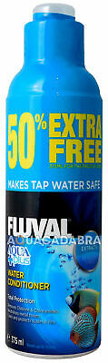 FLUVAL AQUAPLUS 375ml WATER CONDITONER (250ML + 50% EXTRA FREE) TAP FISH TANK
