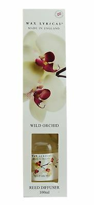 Wax Lyrical 100ml Reed Diffuser Set Wild Orchid Fragrance WLE0503P