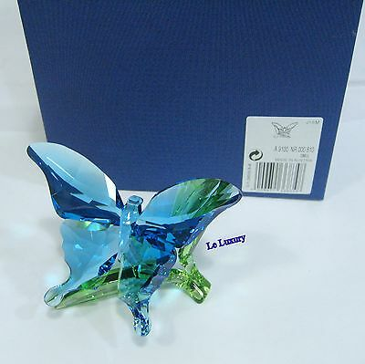 Swarovski Butterfly on Leaves, Crystal Authentic MIB 5136834