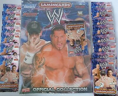 WWE Official Collection Sammelmappe / Ordner + 15 Tüten /Neu/ OVP /Edibas