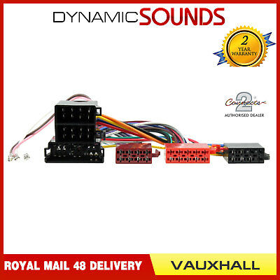 CT20VX02 Wiring Harness Adaptor ISO Loom For Vauxhall Astra Corsa Omega Vectra