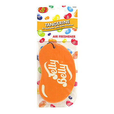 Jelly Belly 2D Car Air Freshener - Tangerine Flavour - Air Freshner New