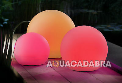 Velda Solar-Powered Floating Ball Multi-Coloured Light Outdoor Garden Pond Lamp