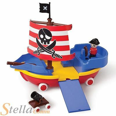 Viking Toys Pirate Ship Boat Chunky Land & Water Pre School Playset