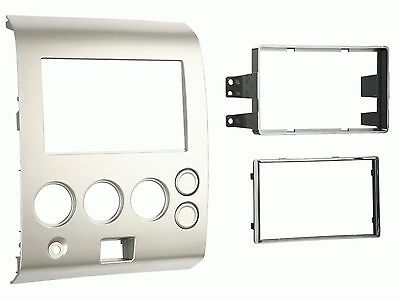METRA 95-7406 Dash Kit for Nissan Armada Pathfinder Titan Double Din Install