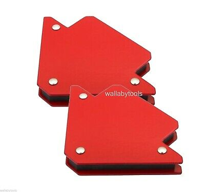 """New Lot Of (2) 3"""" Strength Strong Welding Magnetic Arrow Holder Magnets Magnet"""