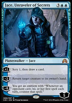JACE, RIVELATORE DI SEGRETI - JACE, UNRAVELER OF SECRETS Magic SOI Shadow of Inn