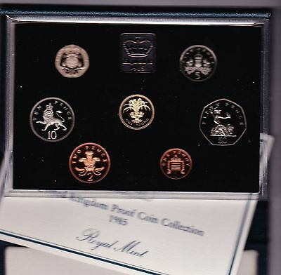 1985 Standard Proof Set Of 7 Coins