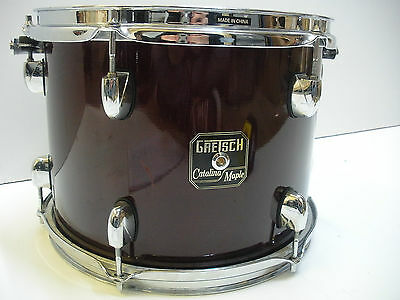 Gretsch maple Catalina 12x9  tom in wine trans red
