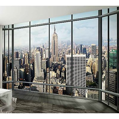 New York City Empire State Building Wall Mural 2.32m x 3.15m (FREE P+P)