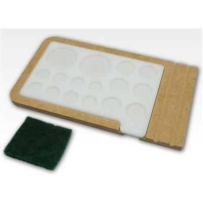 Hobbyzone Acrylic Painting Palette with Base & Cleaning Pad