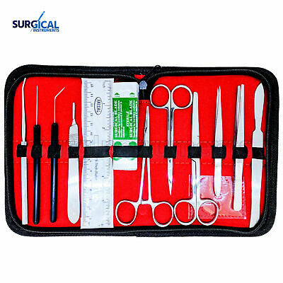 21 pcs Medical Student Anatomy Dissection Kit - Surgical Instruments