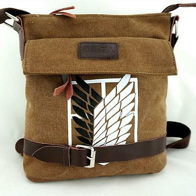 Shingeki no Kyojin Attack on Titan Segel canvas Messenger Tasche Bag 28x27x7CM B