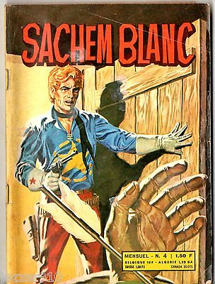 ~+~ SACHEM BLANC n°4 ~+~ 1971 ~+~ EDITIONS DE L'OCCIDENT