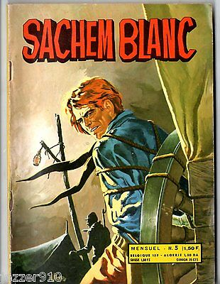 ~+~ SACHEM BLANC n°5 ~+~ 1971 ~+~ EDITIONS DE L'OCCIDENT