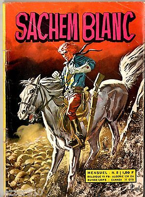 ~+~ SACHEM BLANC n°8 ~+~ 1971 ~+~ EDITIONS DE L'OCCIDENT