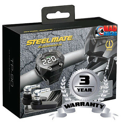 Steelmate TP90i Pro Fit (TPMS) Motorcycle Tyre Pressure monitoring System