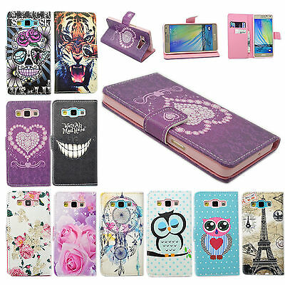 Magnetic Leather Flip Wallet Mobile Phone Skin Case Cover For Samsung Galaxy A5