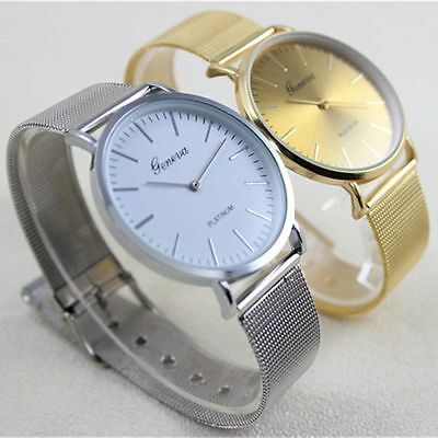 Fashion Women's Watch Stainless Steel Casual Dial Analog Quartz Wrist Watches