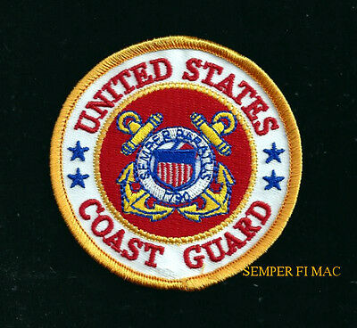 Us Coast Guard Hat Patch Semper Paratus Uscg Logo Quilt Veteran Gift Pin Up Wow