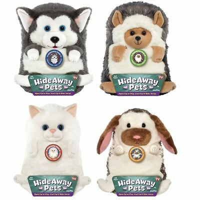 """New Jay At Play 15"""" Hideaway Pet Cuddly Teddy Plush Soft Stuffed Animal Kids Toy"""