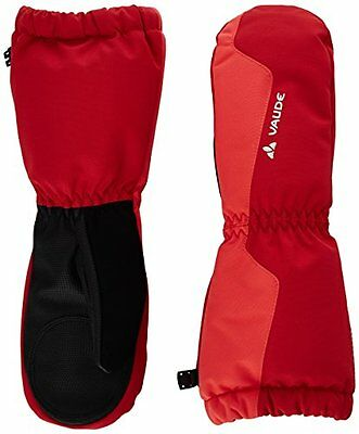 VAUDE, Guanti a manopola Bambino Snow Cup III, Rosso (Indian Red), 6