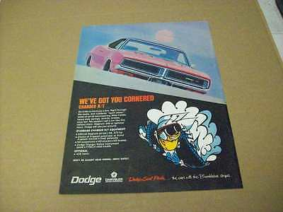 1969 Dodge Charger R/T Advertisement, Vintage Ad